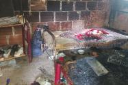 ¡Tragedia en Chaparral! Un niño murió y otro quedó herido en incendio de su vivienda
