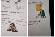 exámenes con memes
