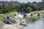 Canal Fucha en Bogotá