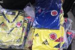 Camisetas 'chiviadas' de la selección Colombia