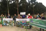 Manifestación en el Parque Central Bavaria