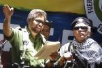 Iván Márquez y Jesús Santrich, anunciando su regreso a las armas.
