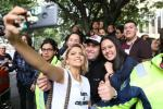 Adriana Lucía en concierto en apoyo al paro