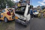Accidente en Bogotá, 2 de enero de 2020