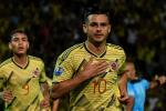 Nicolás Benedetti celebra gol con selección Colombia sub 23