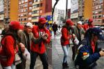 Hombre agredido en Bogotá