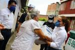 El total de ayudas humanitarias para el departamento en ésta primera fase será de 1582