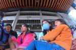 Los nativos alegan que están aguantando hambre en medio del aislamiento.