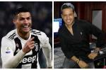 Cristiano Ronaldo y Martín Elías