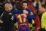 Lionel Messi y Antoine Griezmann