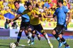 Teófilo Gutiérrez contra Uruguay en 2012