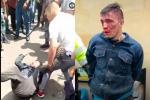 Ladrón en Alquería sufrió paliza colectiva y hasta casi le sacan un ojo