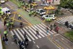 Policía muere por balacera en norte de Bogotá