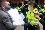 Policía hace reconocimiento al Noticiero Alerta Bogotá