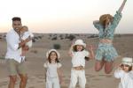 Falcao, Lorelei y sus hijos