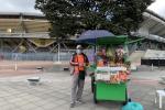 Vendedores informales del Campín en Bogotá