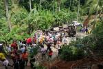 Accidente de un bus en Tarazá, Antioquia.