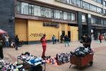 En el centro de Bogotá son varios los establecimientos recubiertos con madera triplex