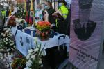 Homenaje a patrullero asesinado Humberto Sabogal
