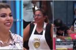 Liss Pereira, Carla Giraldo y Frank Martínez en 'MasterChef'