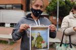 Angie Carolina Beltrán, mamá del soldado Javier Stiven Sánchez Beltrán, quien fue encontrado muerto luego de dos semanas de haber desaparecido