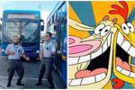 Conductores del SITP bailan canción de 'Vaca y Pollito'