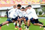 Selección Colombia entrenando en El Campín