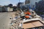 Residuos sin recoger en la localidad de Kennedy, Bogotá