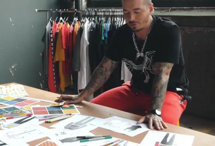 J. Balvin diseñará una colección para Colombiamoda 2018.