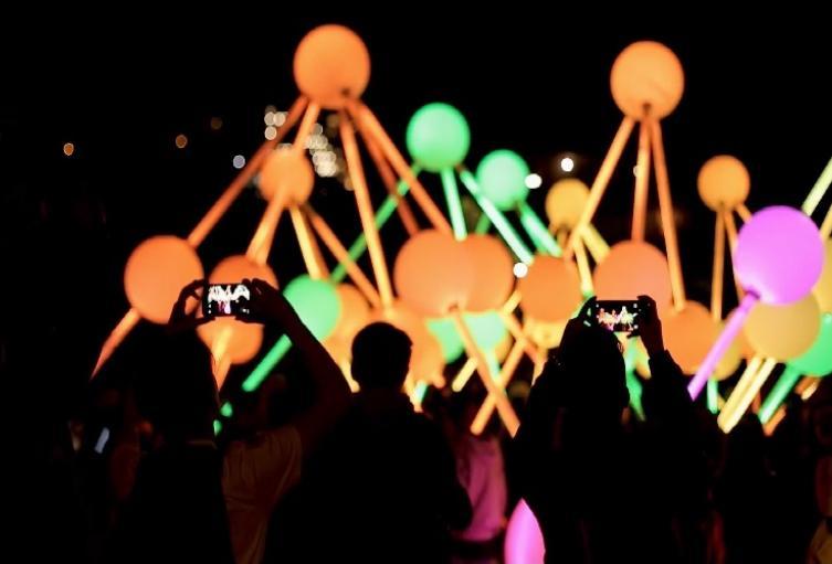 Festival de luces interactivas en Bogotá será gratuito