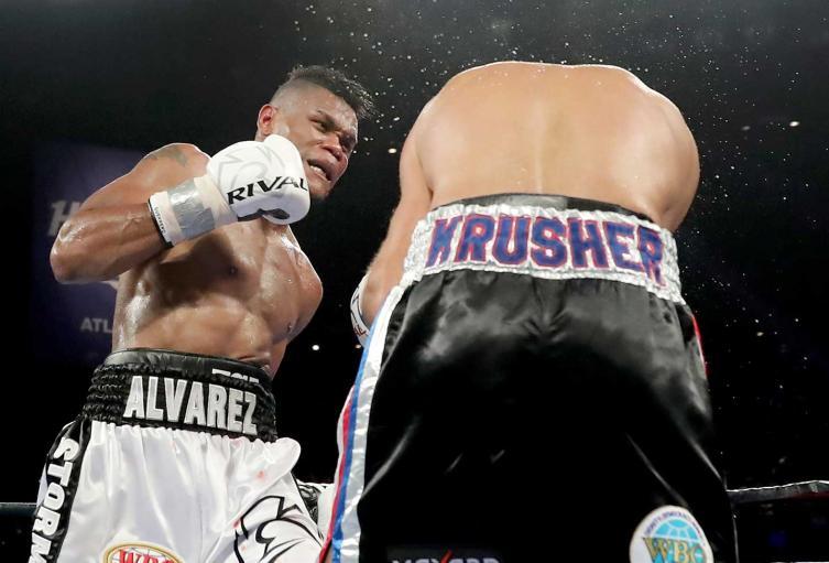 Eleider Álvarez logró convertirse en campeón