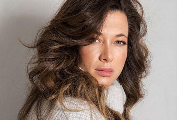 La actriz Estefanía Borge, una sexy fit.
