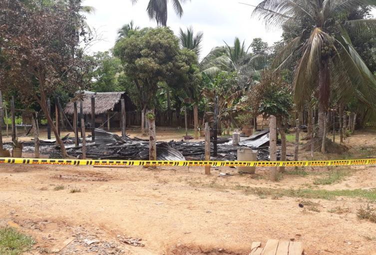 En Tierralta (Córdoba) murieron cinco niños dentro de una vivienda