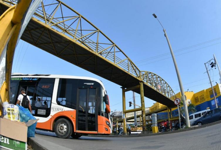 Actualmente el SITM opera con 152 buses.