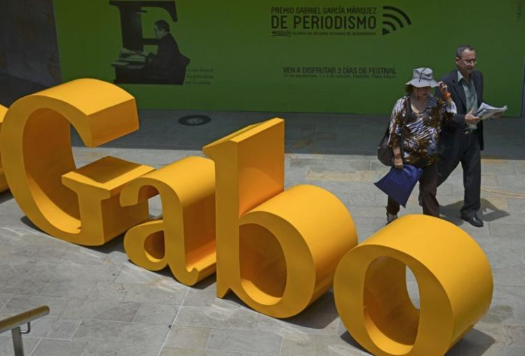 Festival Gabo de periodismo, en Medellín