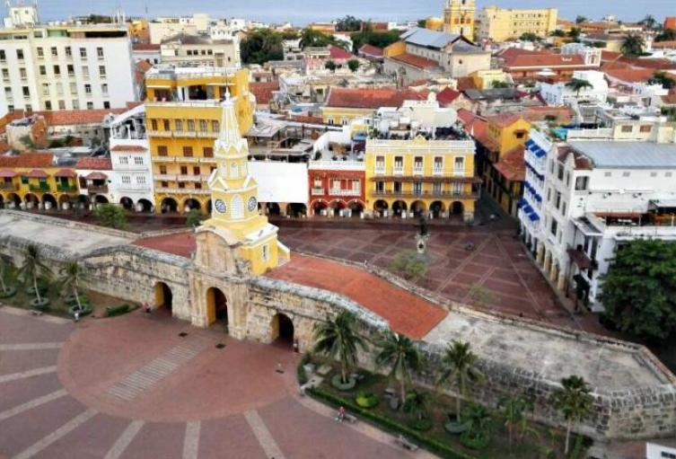 Panorámica de Cartagena.
