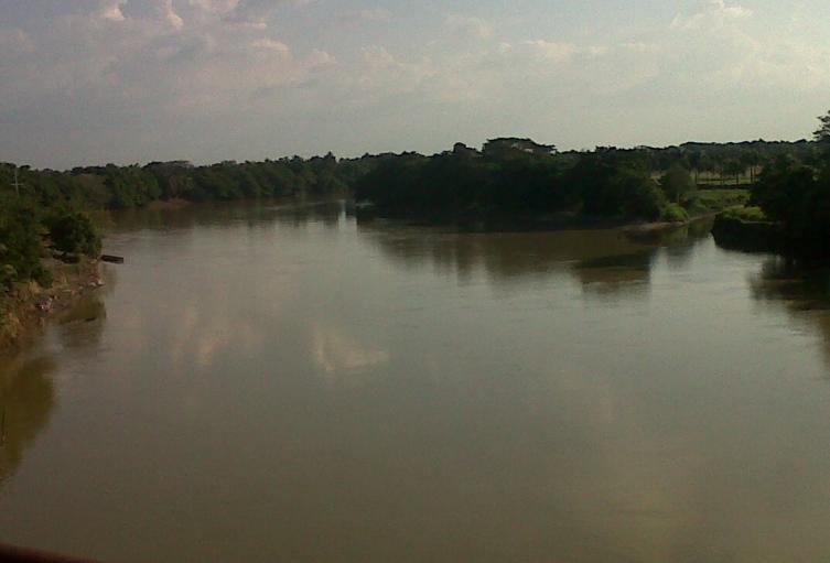 Uno de los proyectos cuestionados  fue destinado en las riveras del rìo Sinú.