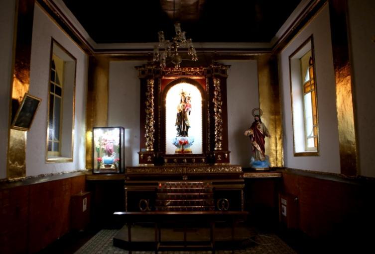 Interior iglesia San Bernandino 1