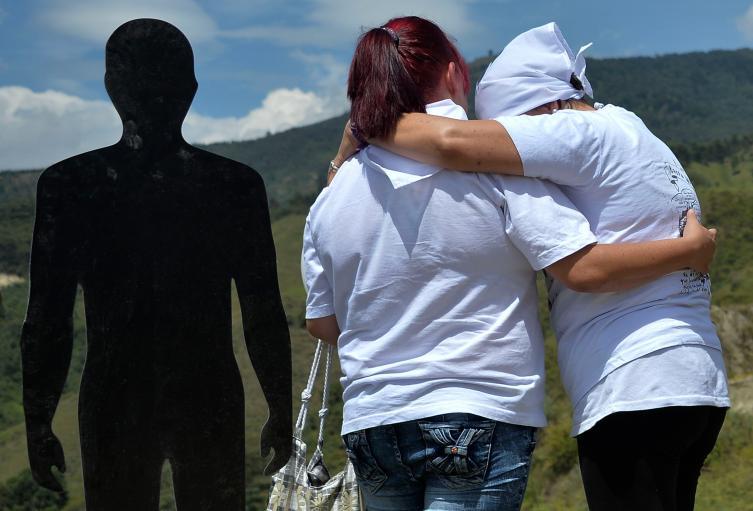 Familiares de las víctimas de la Operación Orión