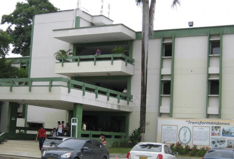 La sede administrativa de la  Universidad de Córdoba.