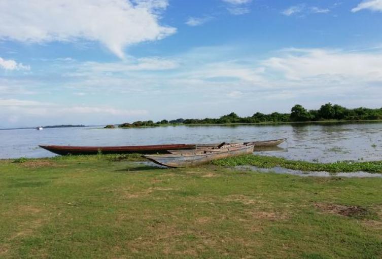 Campesinos exigen que acabe la extracción de material  arrastre del río Cesar
