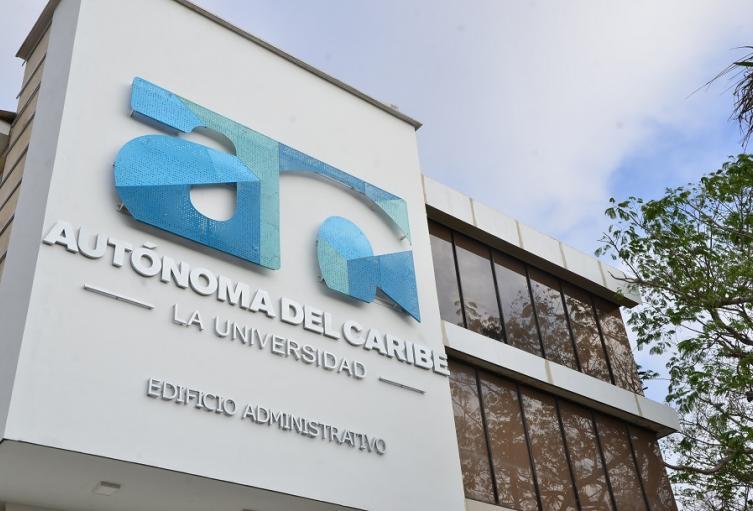 Fachada de la Universidad Autonóma del Caribe.