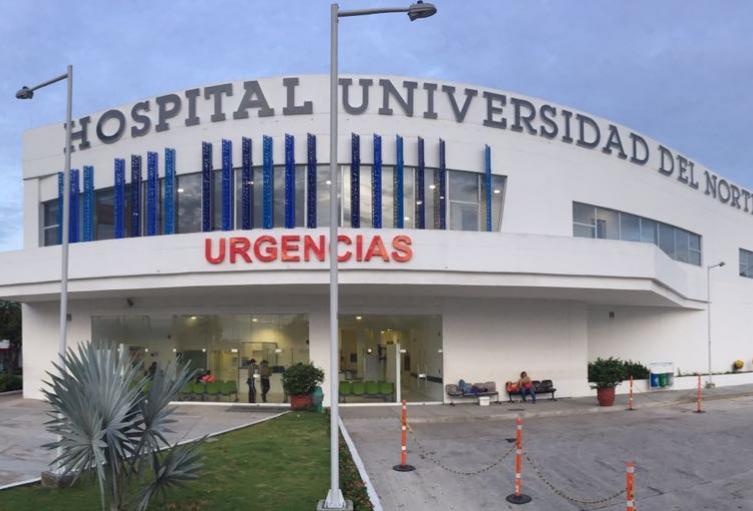 Los heridos fueron llevados al Hospital Universidad del Norte.