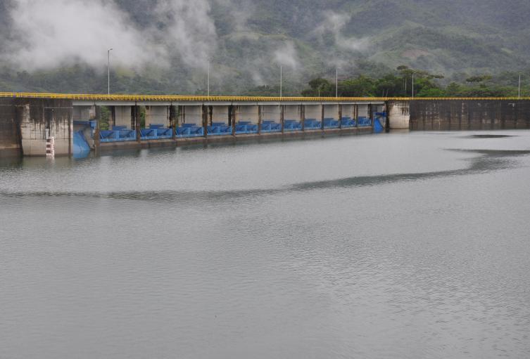 Represa Urrà ubicada en el municipio de Tierralta.