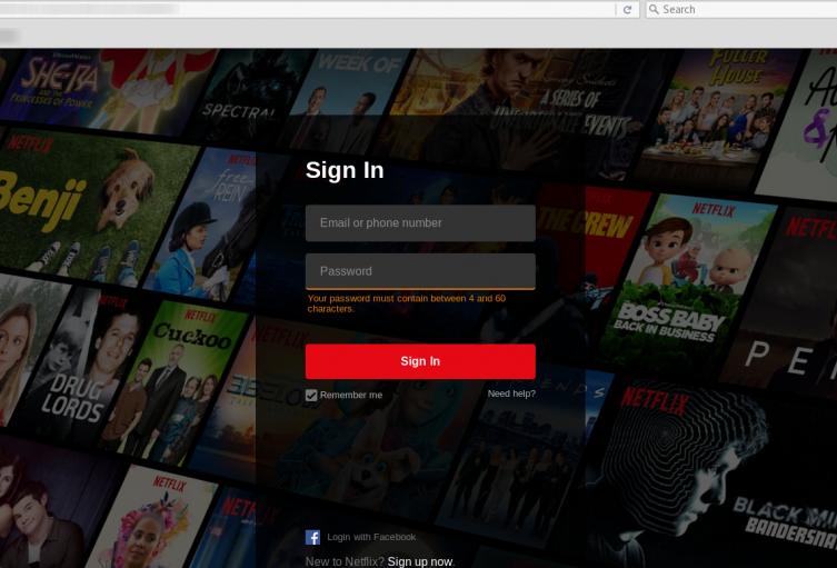 Netflix fraude