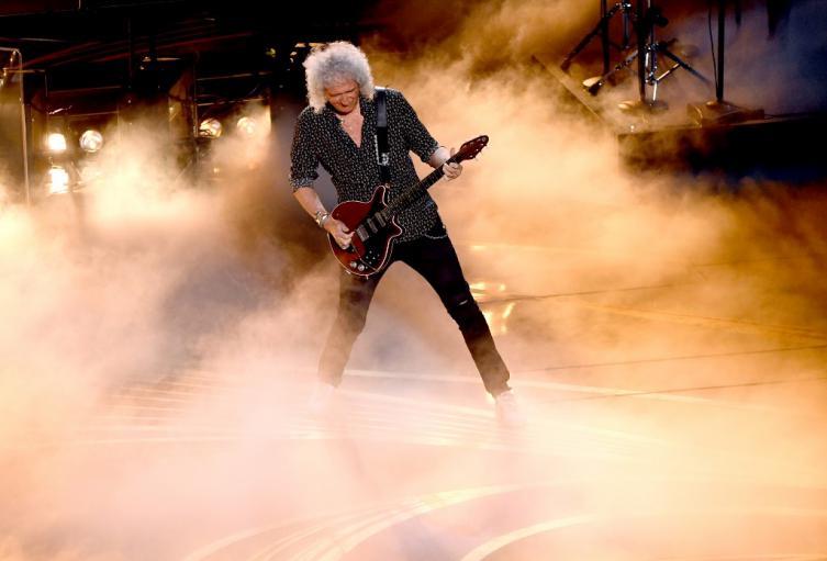 Brian May, legendario guitarrista de Queen