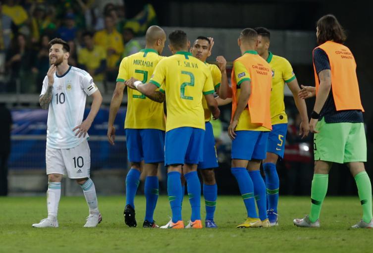 Argentina Brasil, Copa América, 2019