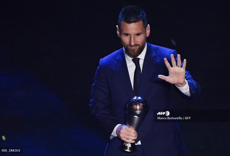 Lionel Messi, The Best 2019