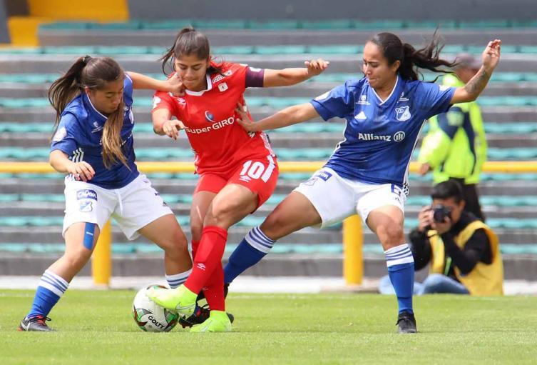 Millonarios vs América, Liga femenina