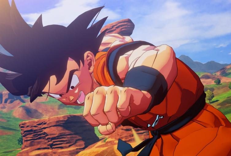 Gokú en Dragon Ball Z: Kakarot